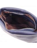 Фотография Темно-синяя женская сумка на плечо Tuscany Leather TL141720