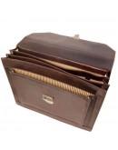 Фотография Черный кожаный вместительный портфель Tuscany Leather Cremona TL141732 black