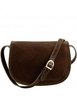 Кожаная сумка формата А4 рыжая 766900W-SGE