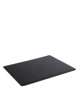 Черный кожаный фирменный коврик на рабочий стол Tuscany Lether TL141892