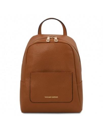 Фотография Коричневый женский небольшой рюкзак Tuscany Leather TL142052 TL Bag brown