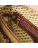 Фотография Кожаная сумка - портфель черная Tuscany Leather TL142068