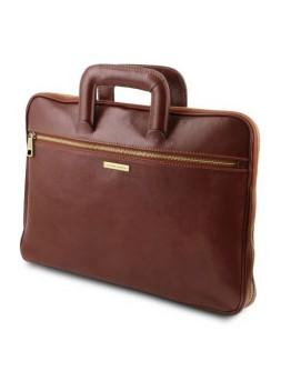 Кожаная фирменная папка - портфель  Tuscany Leather TL142070 Caserta