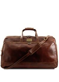 Дорожная кожаная сумка Tuscany Leather Bora Bora TL3067