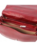 Фотография Женская красная кожаная сумка Tuscany Leather Isabella TL9031 red