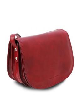 Женская красная кожаная сумка Tuscany Leather Isabella TL9031 red