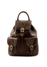 Кожаный фирменный женский рюкзак Tuscany Leather Tokyo TL9035