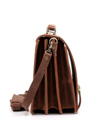 Стильный портфель модного коричневого цвета Manufatto tm-1 kr