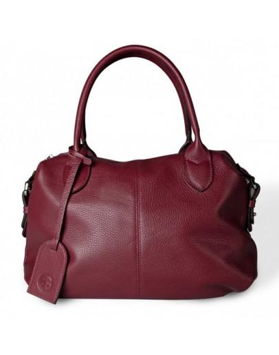Фотография Красная женская кожаная сумка Topy U3 red