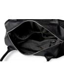 Фотография Женская кожаная чёрная сумка Topy U1 black