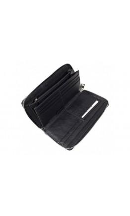 Черный кожаный клатч TR5M-8872