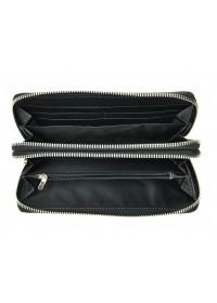 Мужской черный кожаный клатч TR7338A