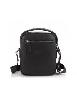 Черная мужская кожаная сумка - барсетка Tavinchi TV-009A