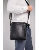 Фотография Мужская сумка через плечо черная Tavinchi TV-S007A
