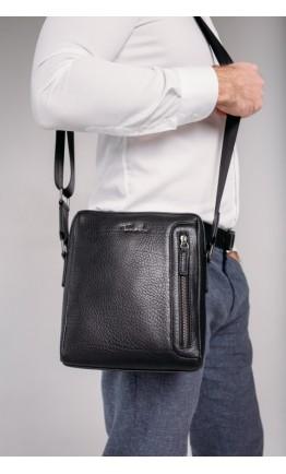 Мужская сумка через плечо черная Tavinchi TV-S007A