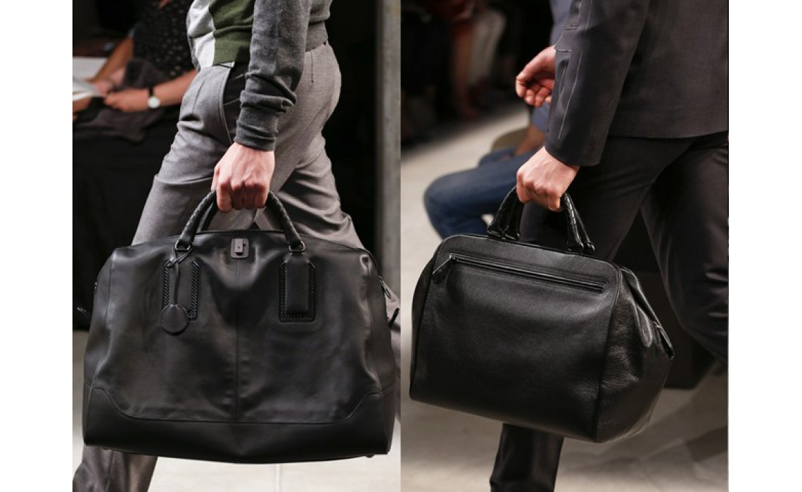 Как ухаживать за мужскими сумками из кожи.