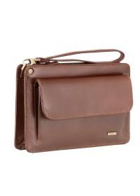 Кожаная коричневая мужская барсетка Visconti 02617 - Ted (brown)