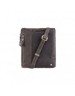 Стильная мужская кожаная сумка Visconti 15056 - Roy (Oil Brown)