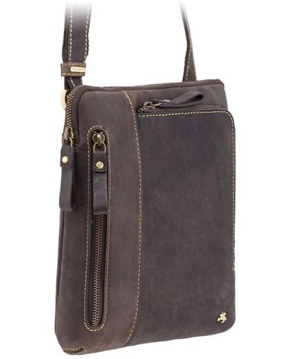 Фотография Стильная мужская кожаная сумка Visconti 15056 - Roy (Oil Brown)