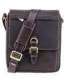 Фотография Удобная вместительная мужская сумка Visconti 16011 Link (Оil Brown)