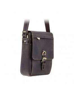 Удобная вместительная мужская сумка Visconti 16011 Link (Оil Brown)