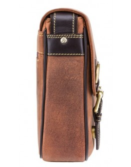 Удобная небольшая сумка на плечо Visconti 16012 Rumba (Оil Tan)