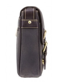 Небольшая кожаная сумка на плечо Visconti 16012 Rumba (Оil Brown)