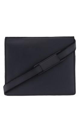 Удобная кожаная сумка VISCONTI Harvard 16025 Oil black