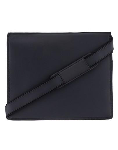 Фотография Удобная кожаная сумка VISCONTI Harvard 16025 Oil black