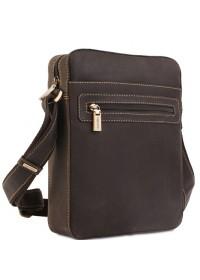 Удобная небольшая сумка на плечо Visconti 16050 brown
