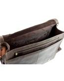 Фотография Большая сумка мужская на плечо Visconti 16054XL Harward (oil brown)