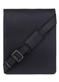 Чёрная вместительная сумка на плечо Visconti 18410 Jasper (Black)