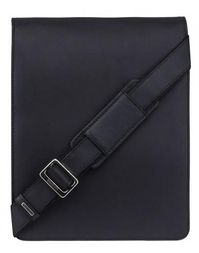 Фотография Чёрная вместительная сумка на плечо Visconti 18410 Jasper (Black)