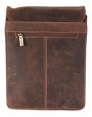 Фотография Коричневая сумка из натуральной кожи Visconti 18563 Leo (Oil Tan)