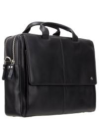 Чёрная удобная мужская сумка Visconti ML24 Anderson (black)