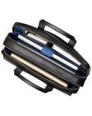 Фотография Чёрная удобная мужская сумка Visconti ML24 Anderson (black)