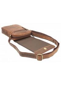 Кожаная сумка песочного цвета Visconti S7 (oil tan)