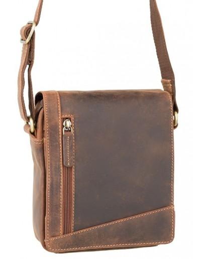 Фотография Кожаная сумка песочного цвета Visconti S7 (oil tan)