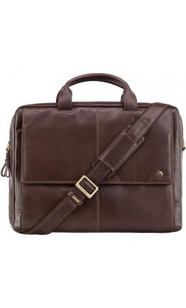 Удобная коричневая мужская сумка Visconti ML24 Anderson (brown)