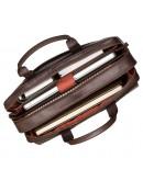 Фотография Удобная коричневая мужская сумка Visconti ML24 Anderson (brown)