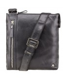 Фотография Небольшая чёрная сумка на плечо Visconti ML25 Taylor (black)