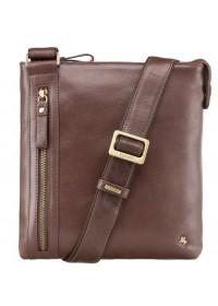 Коричневая повседневная мужская сумка Visconti ML25 Taylor (brown)
