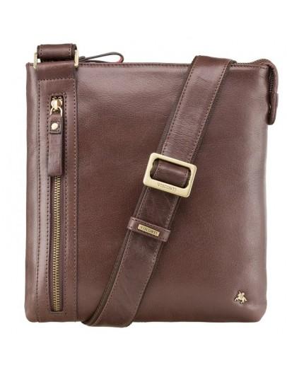 Фотография Коричневая повседневная мужская сумка Visconti ML25 Taylor (brown)