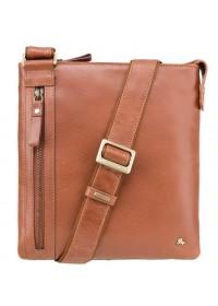 Компактная мужская сумка рыжая Visconti ML25 Taylor (tan)