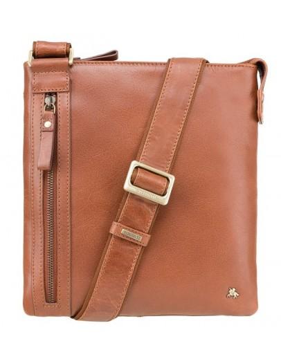 Фотография Компактная мужская сумка рыжая Visconti ML25 Taylor (tan)