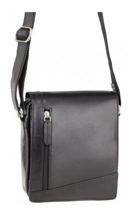 Маленькая чёрная сумка на плечо Visconti S7 (black)