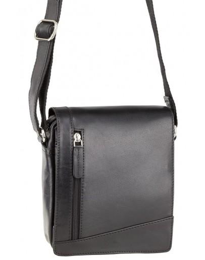 Фотография Маленькая чёрная сумка на плечо Visconti S7 (black)