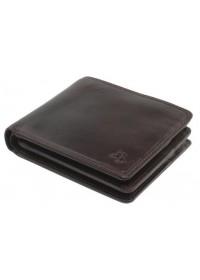 Тёмно-коричневый мужской кошелёк Visconti TSC43 Montieri (Brown)