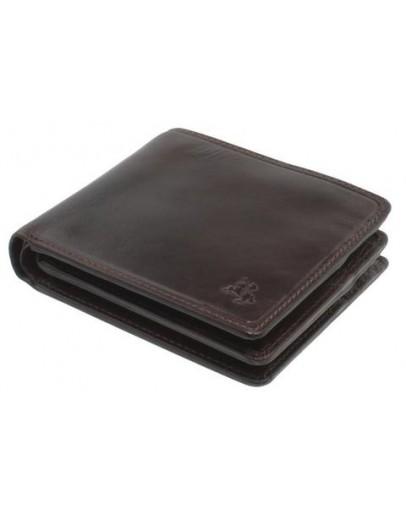 Фотография Тёмно-коричневый мужской кошелёк Visconti TSC43 Montieri (Brown)