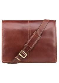 Коричневая сумка мужская на плечо Visconti VT7 Aldo (Brown)